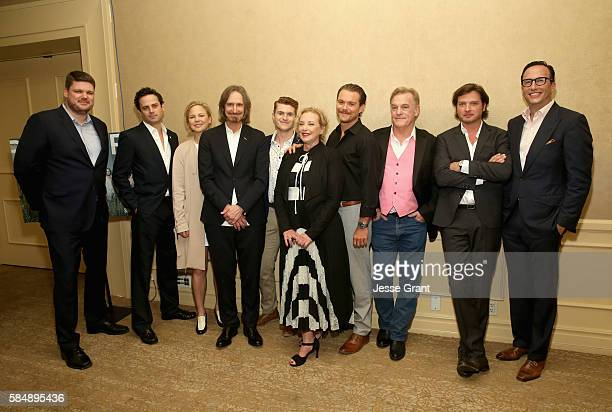 Executive Director SundanceTV Jan Diedrichsen actors Luke Kirby Adelaide Clemens Creator/executive producer/writer/director Ray McKinnon actors Jake...