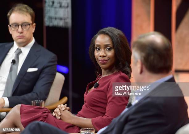 Executive Editor at Bloomberg View and Bloomberg Gadfly Timothy O'Brien White House correspondent at the Washington Post Abby Phillip moderator and...