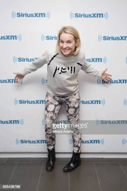 Executive editor at Good Housekeeping Meaghan Murphy visits SiriusXM Studios on March 20 2018 in New York City