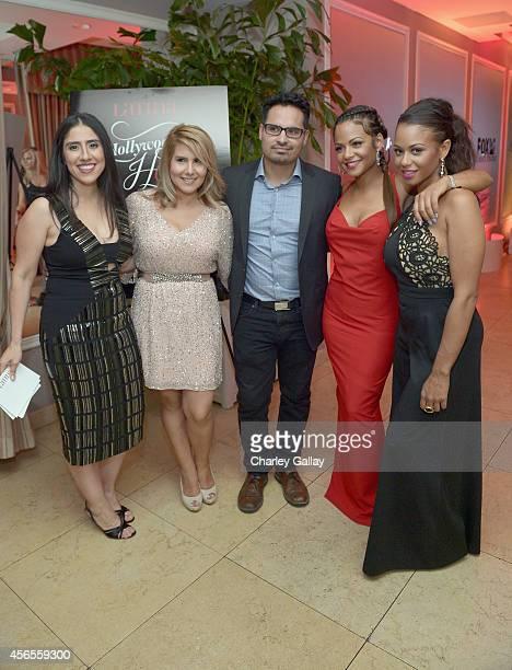Executive Editor at Latina Magazine Shirley Velasquez Creative Director of Latina Magazine Ebby Antigua actor Michael Pena Christina Milian and...