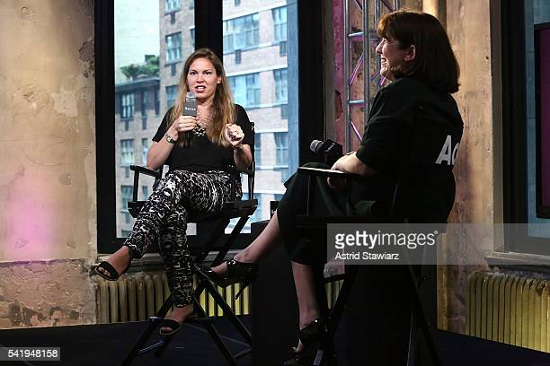 Executive Editor at PEOPLE Magazine Kate Coyne attends AOL Build Presents 'I'm Your Biggest Fan' at AOL Studios In New York on June 21 2016 in New...