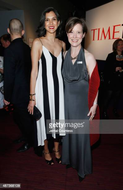 Executive Editor of TIME Radhika Jones and Honoree Ann Patchett attend the TIME 100 Gala TIME's 100 most influential people in the world at Jazz at...
