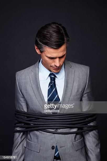 Executive feeling humiliated