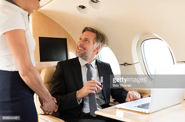 Executive Jet Passengers and Crew