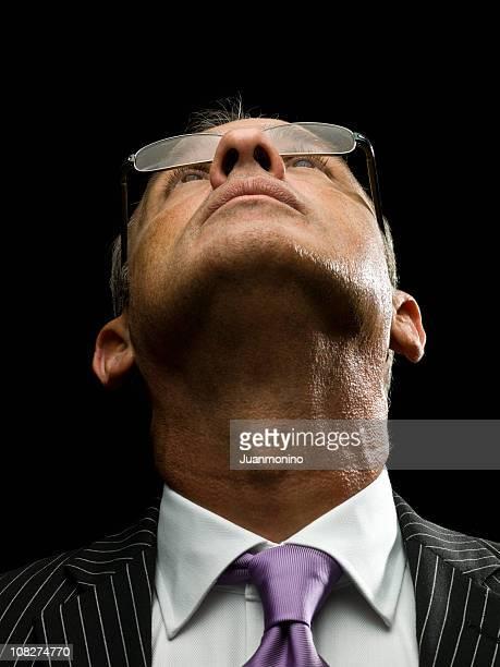 executive-blick - aktmodell mann stock-fotos und bilder