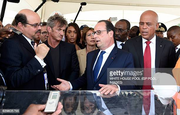 Executive manager of the Execution technic unit Michael de Lanndsheer US actor Sean Penn CEO of the J/P Haitian relief Organization French President...