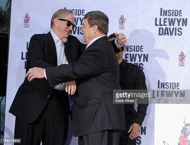 Executive music producer T Bone Burnett and actor John Goodman attend the John Goodman Hand and Footprint Ceremony at TCL Chinese Theatre on November...