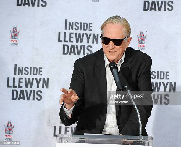 Executive music producer T Bone Burnett attends the John Goodman Hand and Footprint Ceremony at TCL Chinese Theatre on November 14 2013 in Hollywood...