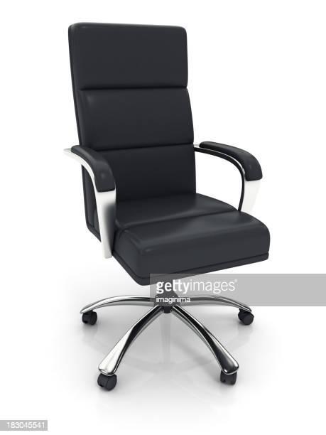 Executivo Cadeira de Escritório com Traçado de Recorte