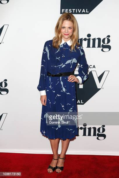 Executive producer actor Claire Coffee attends the Fall Pilot Season of I was a Teenage Pillow Queen during the 2018 Tribeca TV Festival at Spring...