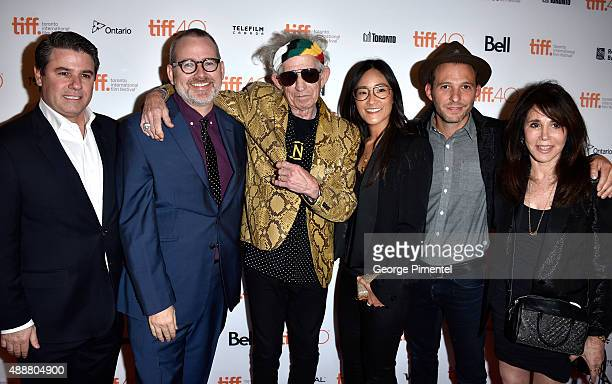 Executive Producer Adam Del Deo Director/Producer Morgan Neville musician Keith Richards Executive Producer Lisa Nishimura producers Justin Wilkes...