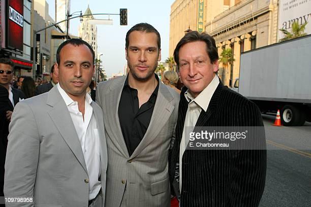 Executive Producer Adam Rosenfelt Dane Cook and Producer Jim Wilson