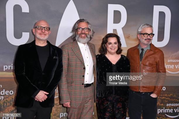 Executive producer Akiva Goldsman, Executive producer Michael Chabon, Supervising producer Kirsten Beyer and executive producer Alex Kurtzman attends...