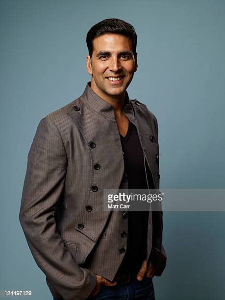 Executive producer Akshay Kumar of Breakaway poses for a portrait during the 2011 Toronto Film Festival at the Guess Portrait Studio on September 10...