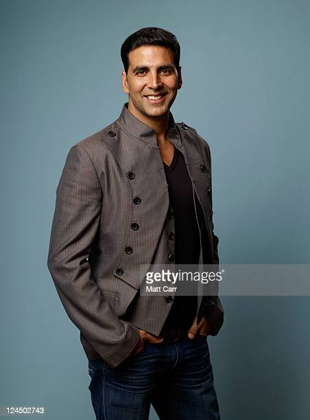 Executive producer Akshay Kumar of 'Breakaway' poses for a portrait during the 2011 Toronto Film Festival at the Guess Portrait Studio on September...