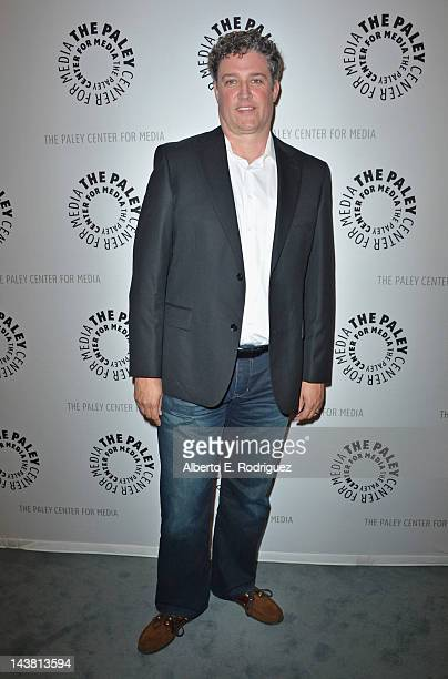 Executive producer Al Jean attends a screening of the PBS documentary American Masters Johnny Carson King of Late Night at The Paley Center for Media...