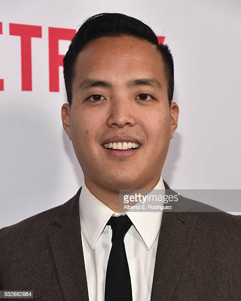 """Executive producer Alan Yang attends Netflix's """"Master of None"""" Emmy Season Screening and panel on May 18, 2016 in Beverly Hills, California."""