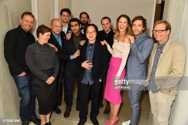 Executive Producer Alec Berg EVP HBO Amy Gravitt Cocreator and executive producer Mike Judge actors Zach Woods Kumail Nanjiani Martin Starr Jimmy O...