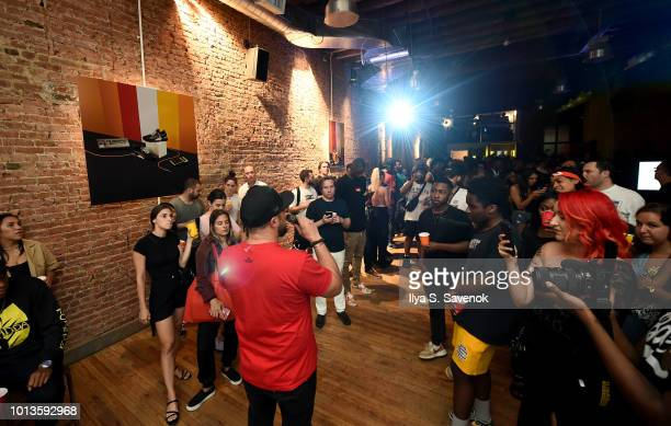 Executive producer Alex Noyer attends Powered By PUMA at The Flat NYC on August 8 2018 in New York City