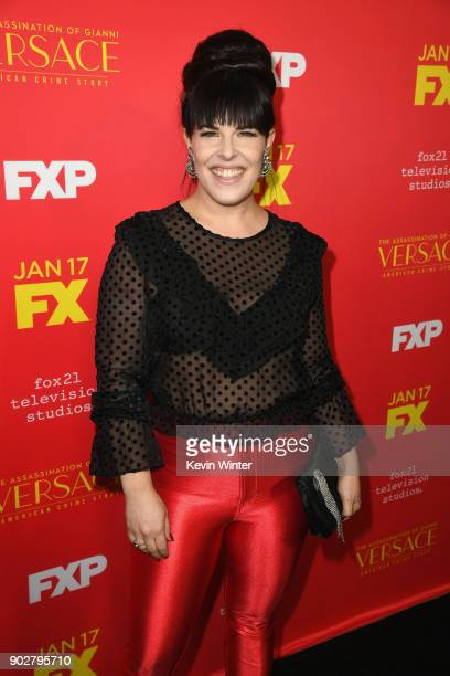 Executive producer Alexis Martin Woodall attends the premiere of FX's 'The Assassination Of Gianni Versace American Crime Story' at ArcLight...