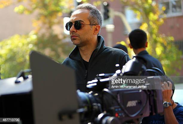 Executive producer Ali Ghorbanzadeh looks on during 'Sperm Whale' Movie on October 22 2014 in Tehran Iran