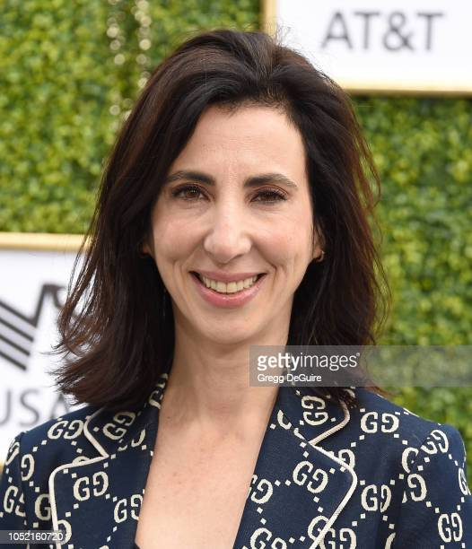 Executive producer Aline Brosh McKenna arrives at The CW Network's Fall Launch Event at Warner Bros. Studios on October 14, 2018 in Burbank,...