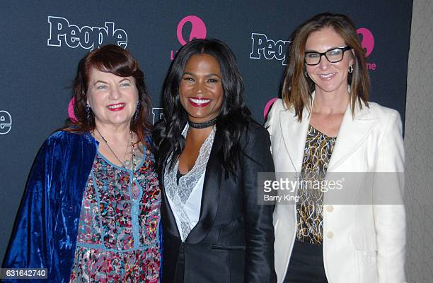 Executive Producer Allison Anders actress Nia Long and executive producer Alison Greenspan attend the Premiere Screening of Lifetime Television's...