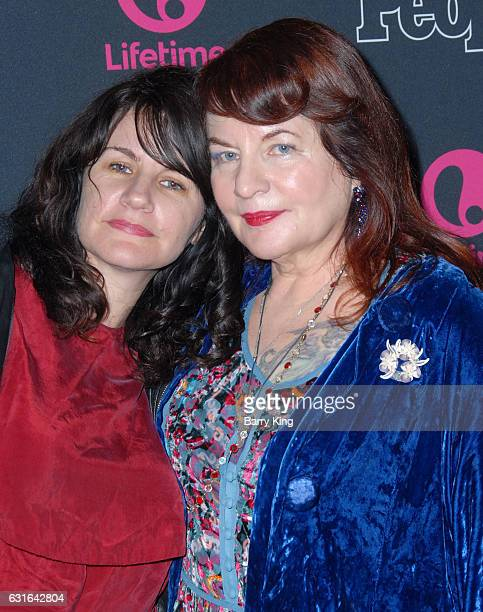 Executive Producer Allison Anders and daughter Tiffany Anders attend the Premiere Screening of Lifetime Television's 'Beaches' at Regal LA Live...
