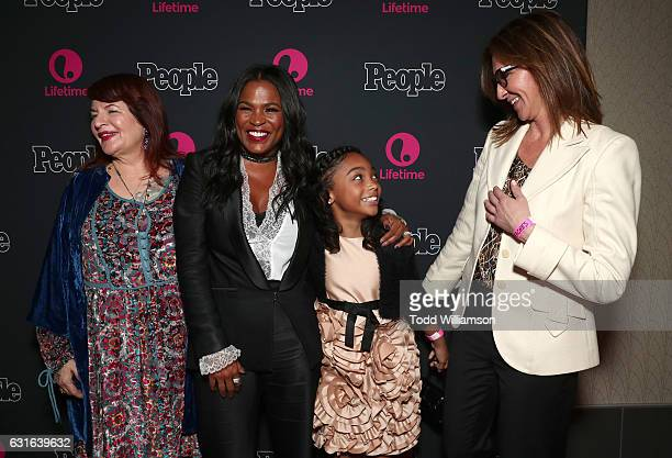 Executive Producer Allison Anders Nia Long Sana Victoria and Executive Producer Alison Greenspan attend the premiere Screening Of Lifetime...