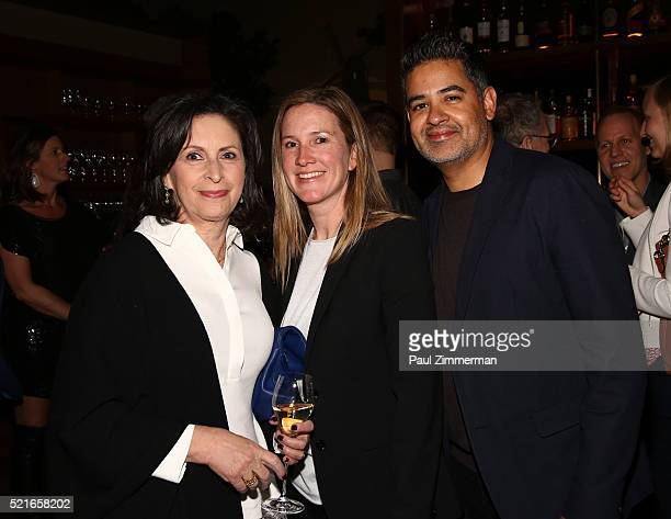 Executive Producer Amy Entelis Supervising Producer Courtney Sexton and Executive Producer Vinnie Malhotra attend the CNN Films and ZPZ Production...
