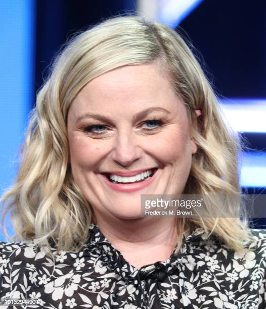 Executive Producer Amy Poehler of the television show 'I Feel Bad' speaks during the NBC segment of the Television Critics Association Press Tour at...