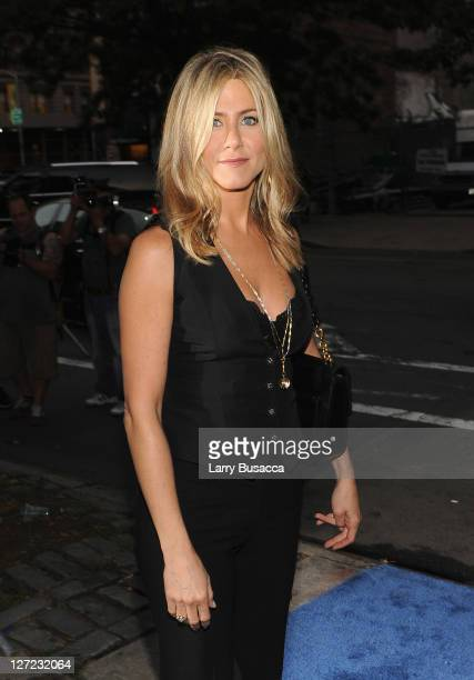 Executive Producer and Director Jennifer Aniston attends the premiere of Lifetime's Five from Jennifer Aniston Demi Moore Alicia Keys at Skylight...
