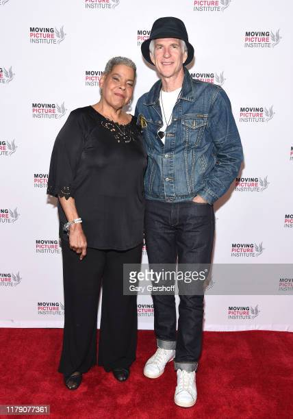 Executive Producer and film subject Virginia Walden Ford and actor Matthew Modine attend the Miss Virginia New York Premiere at SVA Theater on...