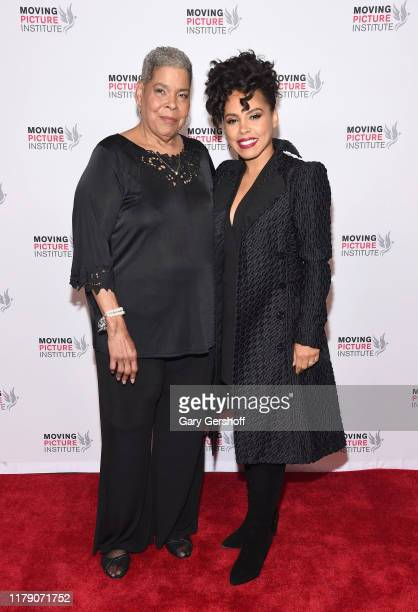 Executive Producer and film subject Virginia Walden Ford and actress Amirah Vann attend the Miss Virginia New York Premiere at SVA Theater on October...