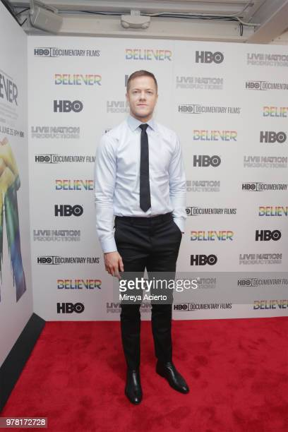 Executive producer and Imagine Dragons frontman Dan Reynolds attends the Believer New York Premiere at Metrograph on June 18 2018 in New York City