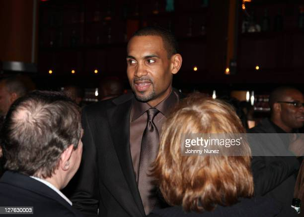 Executive Producer and NBA Player Grant Hill attends the premiere of Starting at the Finish Line The Coach Buehler Story during the 10th annual...
