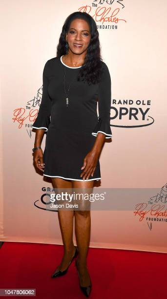 Executive Producer and President Ray Charles Foundation Valerie Ervin arrives at An Opry Salute to Ray Charles at The Grand Ole Opry on October 8...