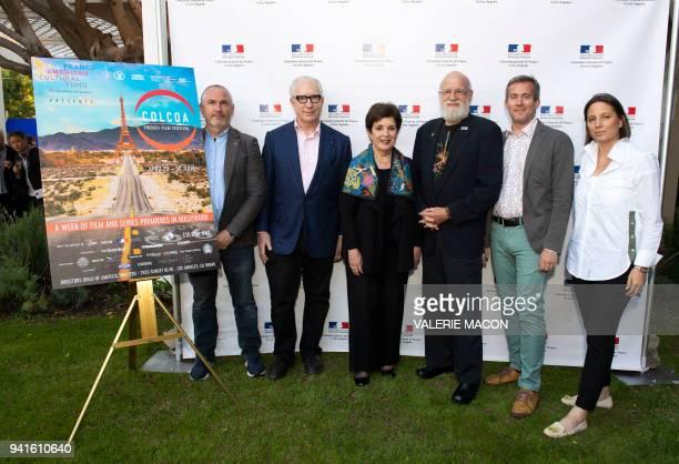 COLCOA Executive Producer and Programmer Francois Truffart Screenwriter Howard A Rodman MPAA representing Joan E Graves director Jeremy P Kagan...