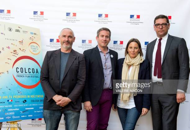 COLCOA Executive Producer and Programmer Francois Truffart Variety Chief Film Critic Peter Debruge COLCOA Deputy Director Anouchka Van Riel and...