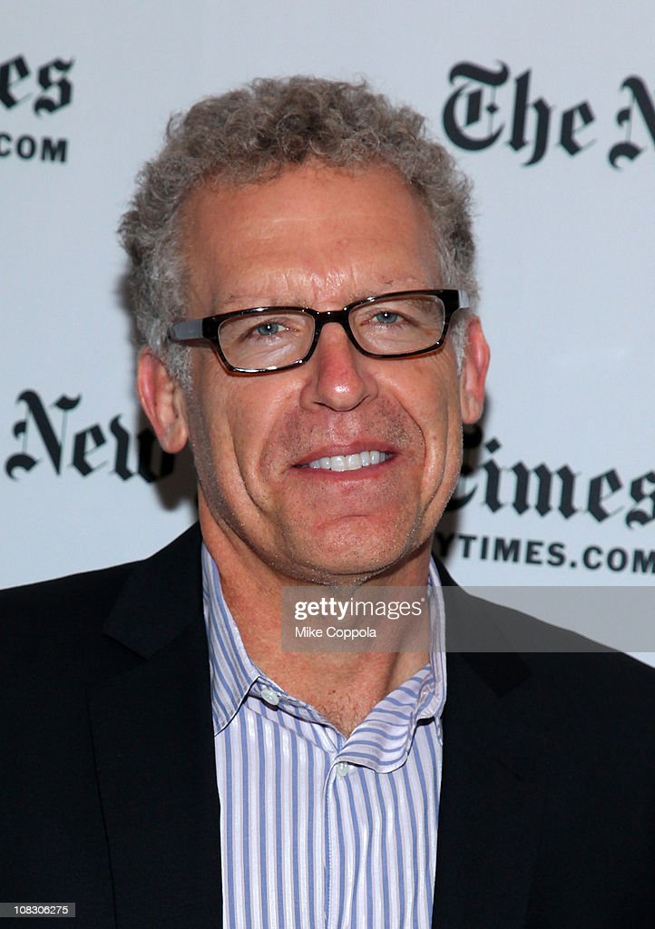 Executive producer and screenwriter for the television series 'Lost' Carlton Cuse attends The New York Times' TimesTalk with the creators of ABC's 'Lost' at TheTimesCenter on May 20, 2010 in New York City.