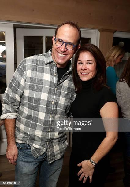 Executive producer Andrew Orenstein and Amazon Studios Head of Kids Programming Tara Sorensen attend the second season premiere of Amazon Original...