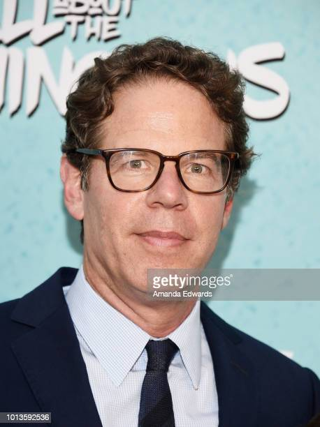 Executive producer Andrew Reich arrives at a screening of Netflix's 'All About The Washingtons' at Madera Kitchen Bar on August 8 2018 in Hollywood...