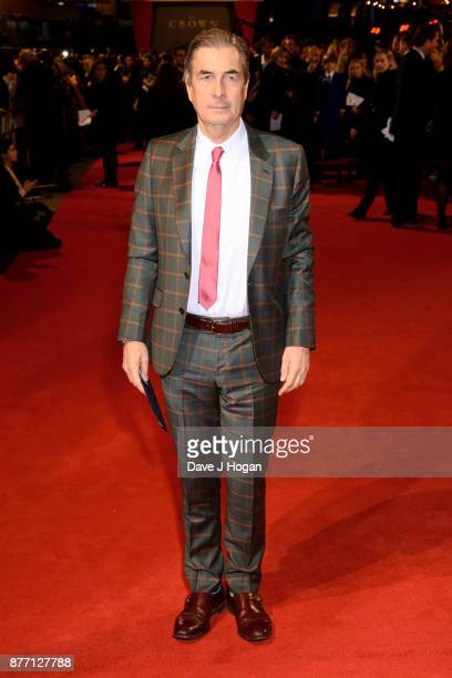 Executive producer Andy Harries attends the World Premiere of season 2 of Netflix 'The Crown' at Odeon Leicester Square on November 21 2017 in London...