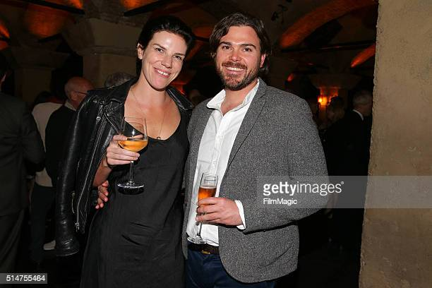 Executive Producer Annabelle Dunne and guest attend the Los Angeles premiere of HBO Documentaries' 'Everything Is Copy' on March 10 2016 in Los...