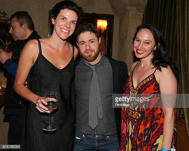 Executive Producer Annabelle Dunne journalist/director Jacob Bernstein and producer Carly Hugo attend the Los Angeles premiere of HBO Documentaries'...