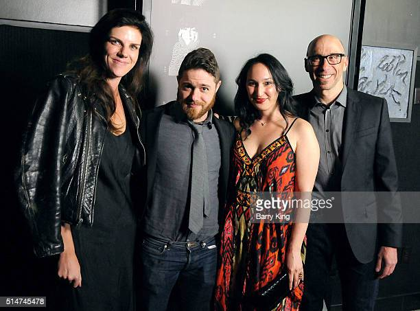 Executive Producer Annabelle Dunne Writer/director Jacob Bernstein producer Carly Hugo and composer Joel Goodman attend the premiere of HBO's...