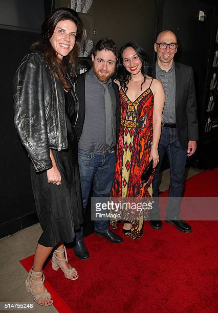 Executive Producer Annabelle Dunne Writer/director Jacob Bernstein producer Carly Hugo and composer Joel Goodman attend the Los Angeles premiere of...