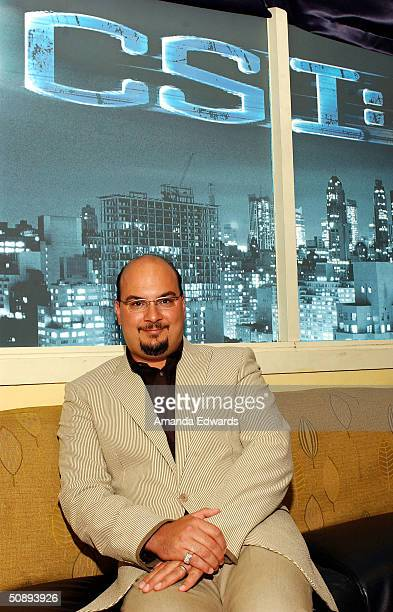 Executive Producer Anthony Zuiker attends the CSI NY cocktail party at Nic's on May 24 2004 in Beverly Hills California