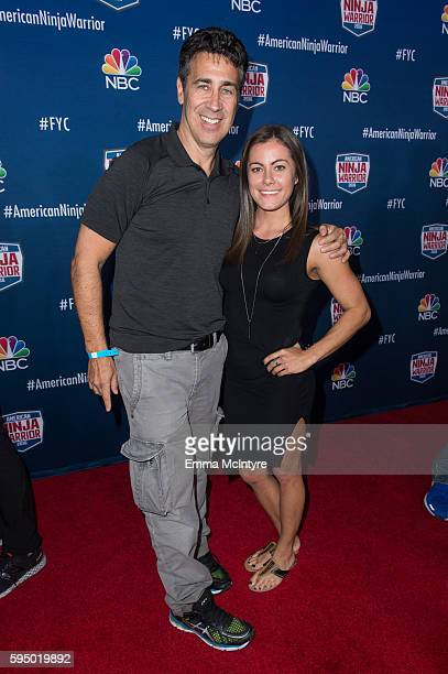 Executive Producer Arthur Smith and Kacy Catanzaro attend the screening event of NBC's 'American Ninja Warrior' in celebration of the show's first...