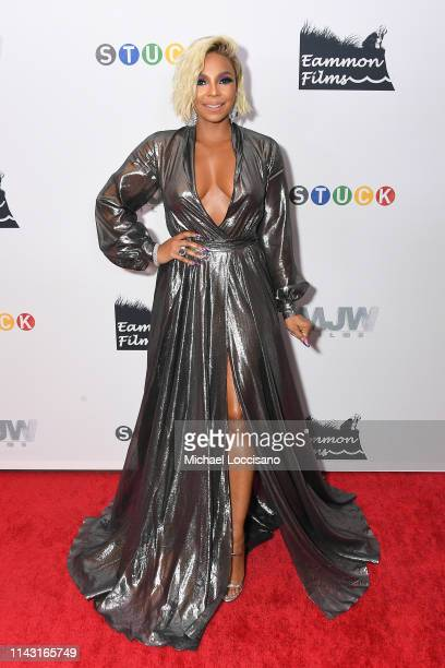 Executive Producer Ashanti attends the New York premiere of Stuck at Crosby Street Hotel on April 16 2019 in New York City